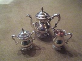 Sterling Silver 3-piece Tea Service