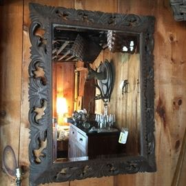 19 th c French mirror