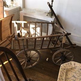 Primitive wagon