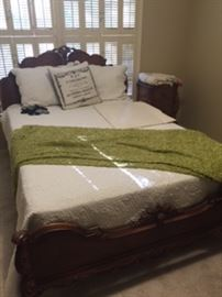 Full size Antique bed Suite, priced individually, single night stand
