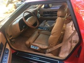 A deeper interior shot of this Vintage 1990 beauty.