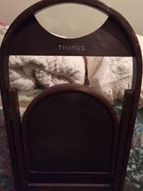 Thomas Funeral Home chair -- 1940s-50s Hammond, LA history
