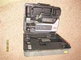 RCA VCR CAMERA WITH CASE
