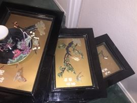 Set of Chinoserie Tables