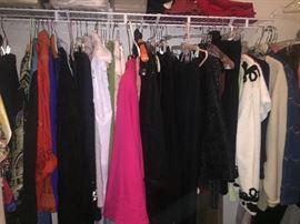ladies Clothing, two closets full!  sized Small & Medium