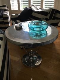 Another chrome table.