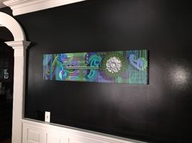 """Victorian Abstract"" 12x48"