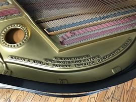 Mason & Hamlin Model A Grand Piano.  Flawlessly maintained piano from 1930.  This piano is available immediately for purchase.  Please call for more info.