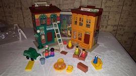 Fisher Price Sesame Street - Complete Set