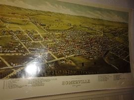 Old Somerville Map