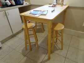 Dining Table & Stools