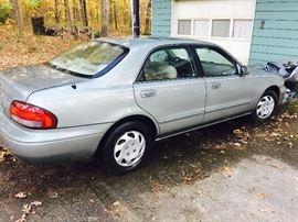 1999 Mazda 626 250,000 miles $1,400