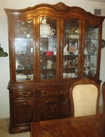 Formal dining room set with China Cabinet