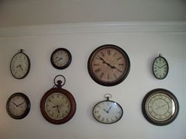 Great Selection of Decorator Clocks