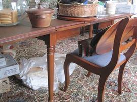 gateleg table & chairs