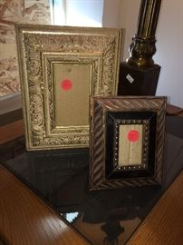 Contemporary picture frames