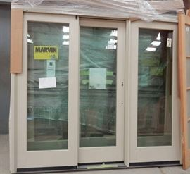 1 active unit with 2 fixed window & door & 1 inactive unit