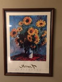 This is just one of a number of prints and reproductions throughout the house.