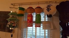 1950's Japanese Lanterns, More not pictured