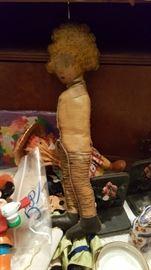 Antique Orphan Annie Doll