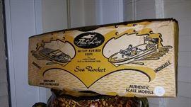 Sea Rocket Boat Mint In Box