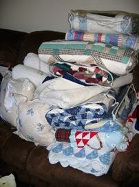 loads of new quilts linens