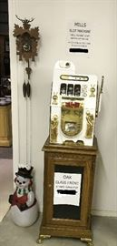 Hole in One golf theme slot machine and stand
