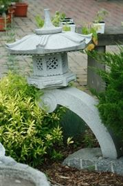 Several granite pagodas available.