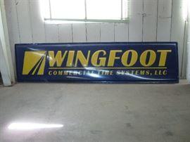 3x12 feet advertising sign