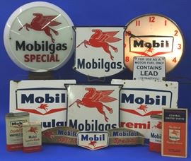 Large Mobil Oil Co. Collection