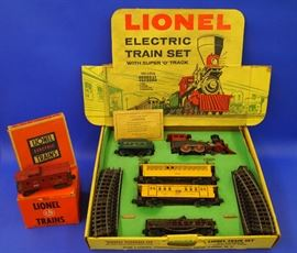 1950s Lionel Train Set