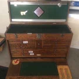 Vintage Machinist Tool Box