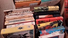 BOXES OF VINTAGE BOOKS