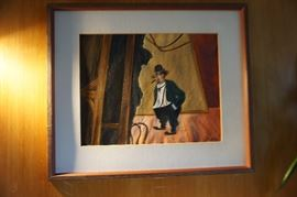 William Gropper oil on paper!  Great find!