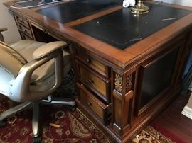 Vintage Wooden Office Desk