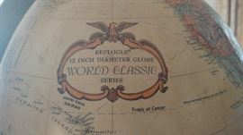 "Replogle 12"" Diameter Globe World Classic Series"