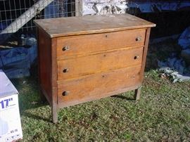 Nice old chest. $40