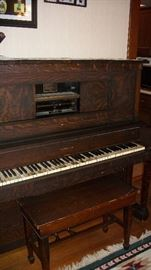 Hobart M Cable player piano