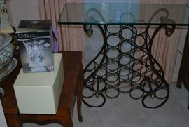 Nice Wine Rack and Nesting Tables