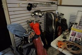 Golf club items