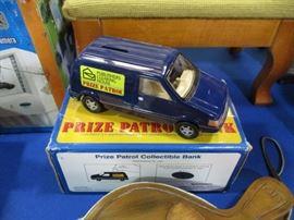 Prize Patrol diecast bank