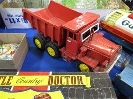 friction dump truck