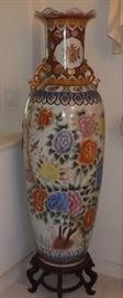 ECT031 Beautiful Large Chinese Tall Decorative Vase