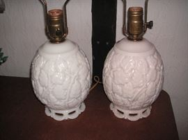 Alacite lamps (Aladdin); working, but need re-wiring
