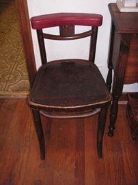 vintage restaurant chair