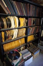 Records, 78's, LP's