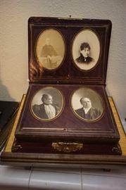Victorian Music Box Photo Album