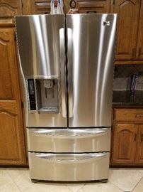Beautiful LG Refrigerator