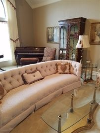 Formal Living room furniture and piano