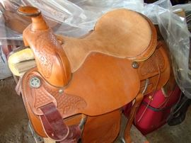 saddle TEX-TAN Brahma Brand